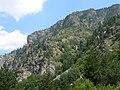 Рила - скалите над Екопътека Бели Искър.JPG