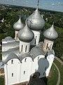 Россия, Вологда, Город, кремль, Софийский собор, главы, 12-47 13.07.2006 - panoramio.jpg