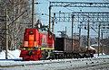 ТЭМ18ДМ-532, Россия, Новосибирская область, станция Крахаль (Trainpix 49114).jpg
