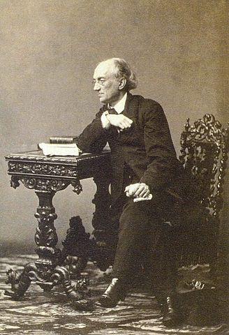 Ф.И.Тютчев. 1860—1861гг. Фотография С.Л.Левицкого