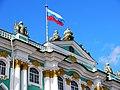 Фасад Зимнего дворца, крупным планом.JPG