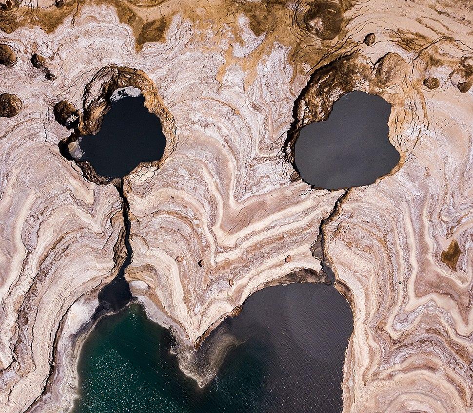 זעקת ים המלח - בולענים בשמורת עין גדי