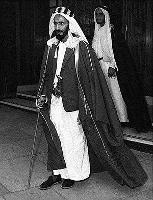 Shakhbut bin Sultan Al Nahyan - Sheikh Shakbut in 1961