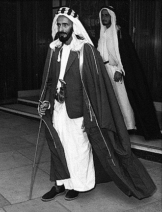Abu Dhabi - Sheikh Shakhbut bin Sultan Al Nahyan, brother of Sheikh Zayed, ruled Abu Dhabi from 1928 to 1966.