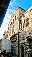جزء من الجدار الخارجي للمسجد الأموي الكبير في دمشق القديمة.jpg