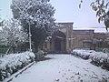 دبیرستان امام خمینی همدان - روز برفی.JPG