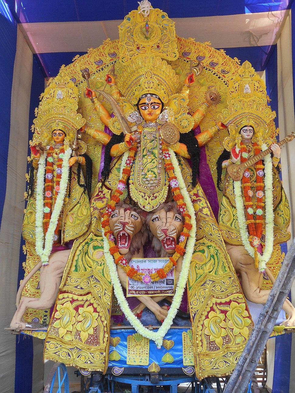 Durga puja of West Bengal - Howling Pixel