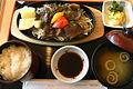 エゾシカのジンギスカン定食 (498137310).jpg