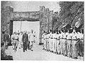 三民主義青年團北碚青年夏令營主任康澤陪同三民主義青年團團長蔣中正檢閱女生1.jpg