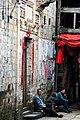 和平古镇4-爵士鼓手 - panoramio.jpg