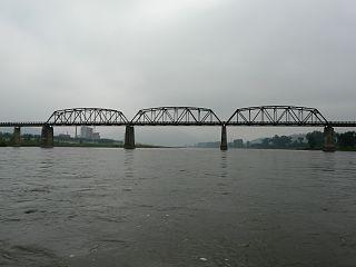 Linjiang Yalu River Bridge