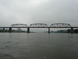 Linjiang Yalu River Bridge - The Linjiang Yalu River Bridge