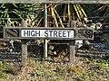 -2018-10-04 Street name sign, High street, Overstrand.JPG