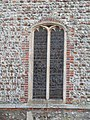 -2019-01-23 Window on the south facing elevation of Saint Mary's parish church, Kelling (2).JPG