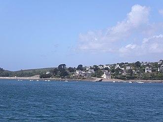 Roscanvel - Roscanvel view of the harbor of Brest in 2008