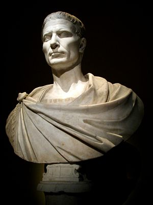 Julius Caesar, one of the world's greatest military leaders 0092 - Wien - Kunsthistorisches Museum - Gaius Julius Caesar-edit.jpg