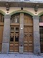 043 Casa Josep Casasas, c. Fusina 15 (Vic), portal.jpg