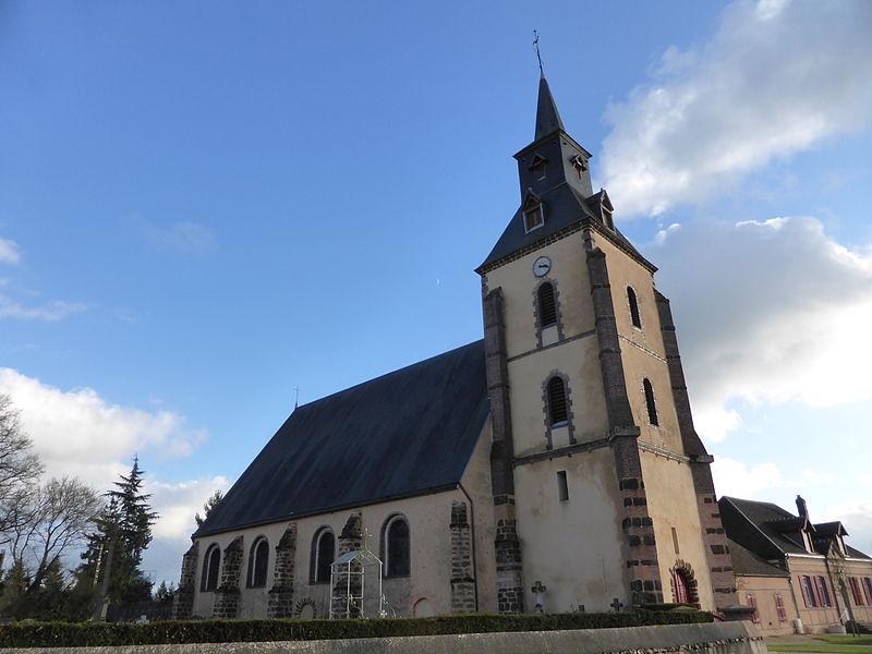 Église Saint-Jean de Belhomert, en Eure-et-Loir.