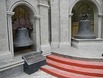09017jfSaint Francis Church Bells Meycauayan Heritage Belfry Bulacanfvf 18.JPG