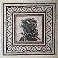 0 'Méduse' - Pavement mosaic - Season bust - Pal. Massimo (Rome).JPG