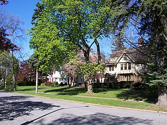 Browncroft Historic District - Image: 10 22 30Ramsey Park Rochester New York