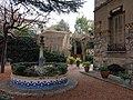 103 Casa Barbey, brollador i façana nord (la Garriga).JPG
