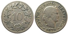 Coins Of The Swiss Franc Wikipedia