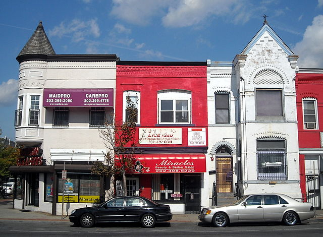 Barber Shop Queen Anne : English: Shops located at 11001104 H Street , N.E. , in the Near ...