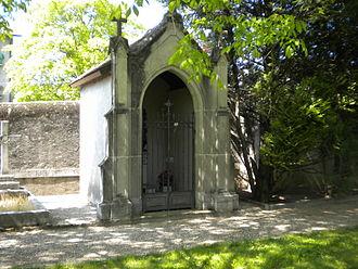 Carlotta Grisi - Grisi's sepulcral vault in a cemetery near Saint-Jean