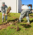 116th Civil Engineering Squadron repair drainage problem 130413-Z-XI378-007.jpg