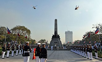 Metro Manila - Commemoration of 119th Philippine Independence Day at Rizal Park
