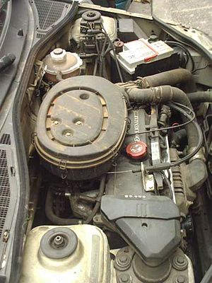 Renault Energy engine - E7F engine in a 1992 Renault Clio