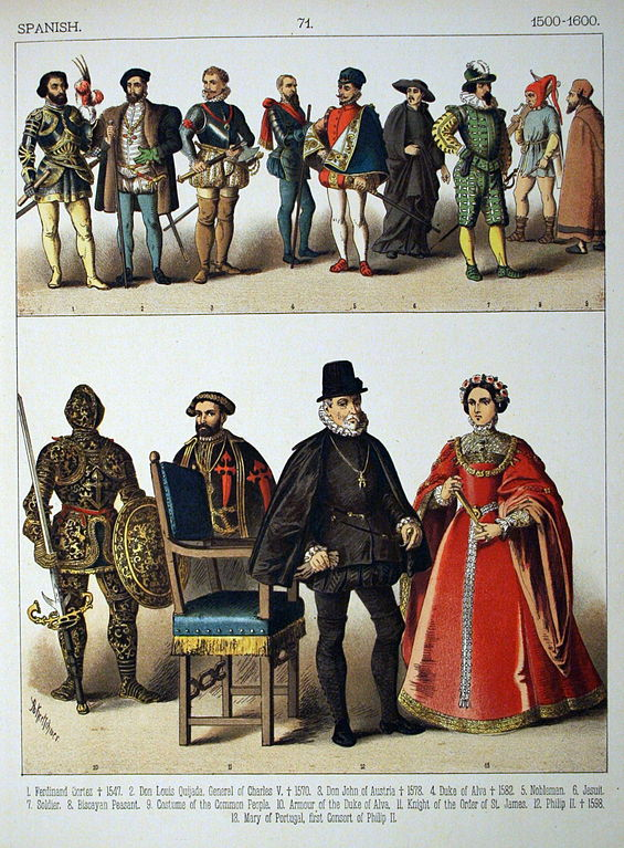 File:1500-1600, Spanish. - 071 - Costumes of All Nations ...