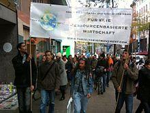 Attivisti tedeschi nel 2011