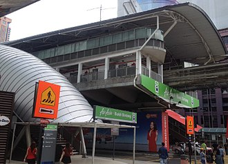 KL Monorail - AIRASIA-Bukit Bintang, is one of the three stations which has been selected for the station naming right program