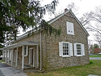 Friends meeting houses in Pennsylvania - Image: 1683 Haverford Friends