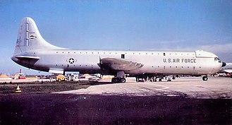San Antonio Air Logistics Center - Image: 1700 ATG Convair XC 99 1954
