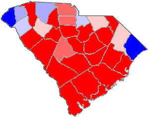 South Carolina gubernatorial election, 1868 - Image: 1868SCGov Results