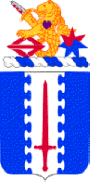 187th Infantry Regiment (United States) - Coat of arms