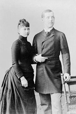 Sophia of Prussia - Princess Sophie of Prussia and Constantine, Duke of Sparta