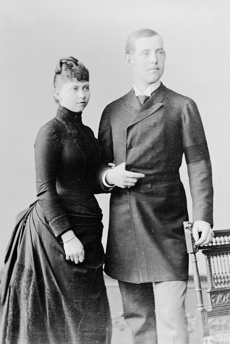 1888-09 Wilhelm Höffert Princess Sophie of Prussia and Constantine, Duke of Sparta