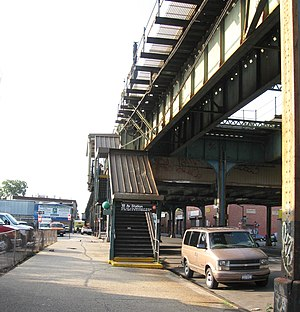 18th Avenue (IND Culver Line) - Street stair