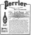 1908 Perrier US ad.png