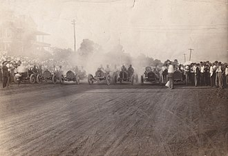Fairgrounds Speedway - 1911 race at the Fairgrounds