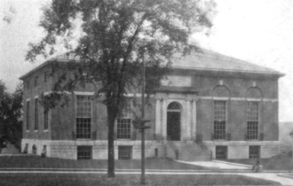 Southbridge, Massachusetts - Southbridge public library, 1915