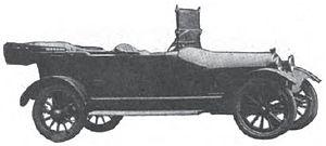 Spaulding (automobile) - 1916 Spaulding Model A