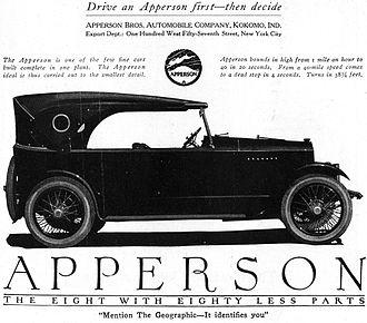 Apperson - 1920 Apperson advertisement