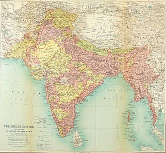 Arunachal Pradesh - British map published in 1922 shows an Indo-Bhutan-Tibetan border different from the 1909 map.