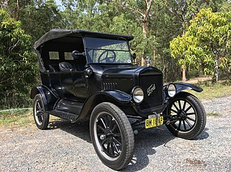Ford Model T - 1925 Ford Model T Touring