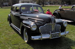 Buick Roadmaster 71 Touring Sedan (1941)